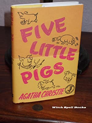 Five Little Pigs :++++FOR THE DISCERNING COLLECTOR, A BEAUTIFUL UK FIRST PRINT HARDBACK OF THE HA...