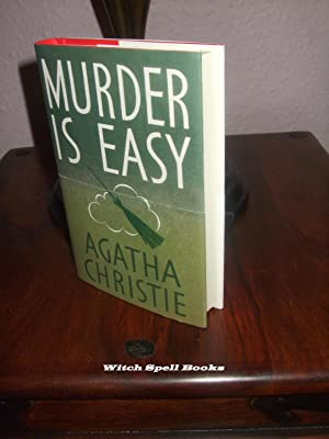 Murder is easy :++++FOR THE DISCERNING COLLECTOR, A BEAUTIFUL FIRST PRINT HARDBACK OF THE HARPER ...