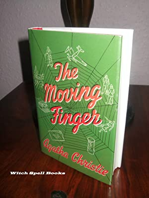 The moving finger :++++FOR THE DISCERNING COLLECTOR,A BEAUTIFUL UK FIRST PRINT HARDBACK OF THE HA...