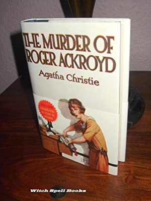 The Murder of Roger Ackroyd :FOR THE DISCERNING COLLECTOR, A BEAUTIFUL UK FIRST PRINT HARDBACK OF...
