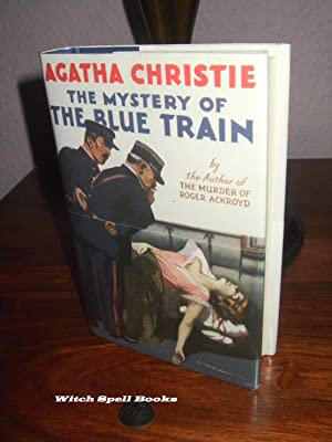The Mystery of the Blue Train :++++FOR THE DISCERNING COLLECTOR, A BEAUTIFUL UK FIRST PRINT HARDB...