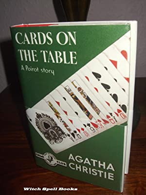 Cards on the Table :++++FOR THE DISCERNING COLLECTOR, A BEAUTIFUL UK FIRST PRINT HARDBACK OF THE ...