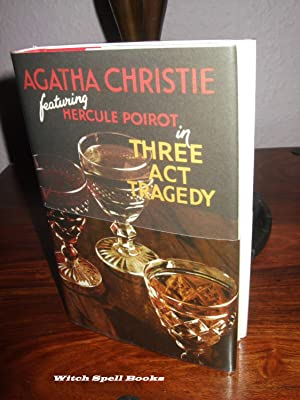 Three Act Tragedy :++++FOR THE DISCERNING COLLECTOR, A BEAUTIFUL UK FIRST PRINT HARDBACK OF THE H...