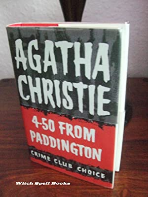 4.50 from Paddington : ++++FOR THE DISCERNING COLLECTOR, A BEAUTIFUL FIRST PRINT HARDBACK OF THE ...