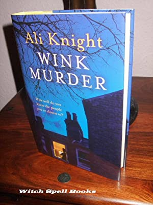 Wink Murder : ++++FOR THE DISCERNING COLLECTOR, A BEAUTIFUL UK SIGNED AND PRE-PUBLICATION DATED, ...