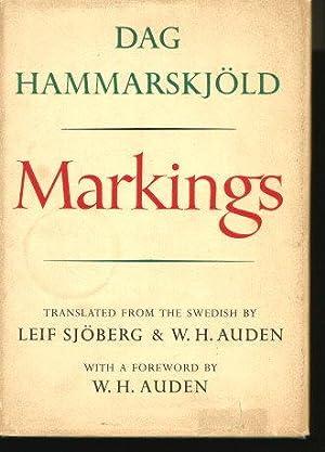 MARKINGS: Hammarskjold, Dag (