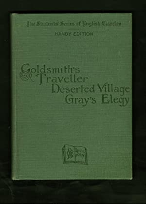 grays elegy and goldsmiths deserted village Gray's elegy and goldsmith's the deserted village, the traveller and other  poems has 7 ratings and 1 review gray and goldsmith were contemporaries  born.