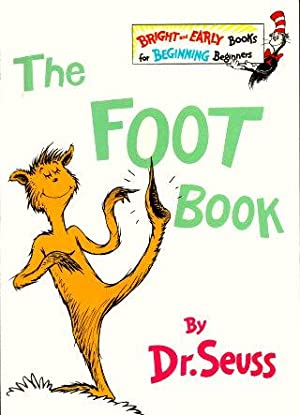 THE FOOT BOOK ( Bright and Early: Dr. Seuss