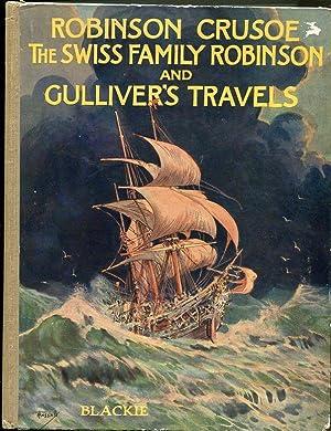 Robinson Crusoe, The Swiss Family Robinson, and: Defoe, Daniel ;
