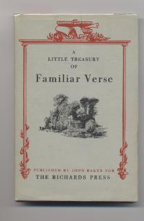 A Little Treasury of Familiar Verse