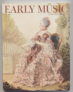 Early Music magazine, Volume 10, No. 3, July 1982