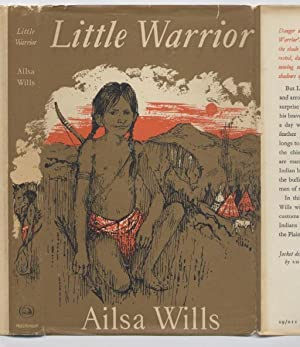 Little Warrior: The Story of a Cheyenne Indian Boy AUTOGRAPHED COPY