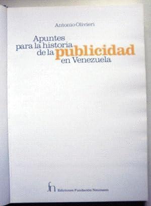 Apuntes para la historia de la publicidad: OLIVIERI, Antonio