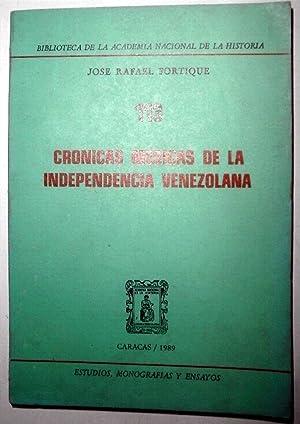 Crónicas médicas de la independencia venezolana: FORTIQUE, José Rafael