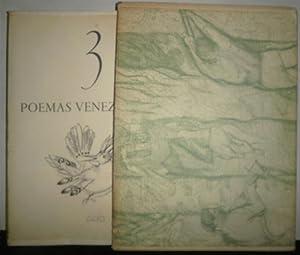 3 Poemas Venezolanos: BELLO, Andrés; PEREZ BONALDE, Juan Antonio; LAZO MARTI, Francisco