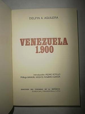 Venezuela 1900: AGUILERA, Delfín