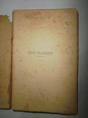 Miss Harriet: DE MAUPASSANT, Guy