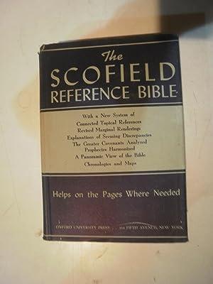 The Scofield reference Bible: SCOFIELD, C.I. (Rev.)