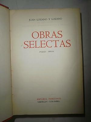 Obras selectas: LOZANO Y LOZANO,