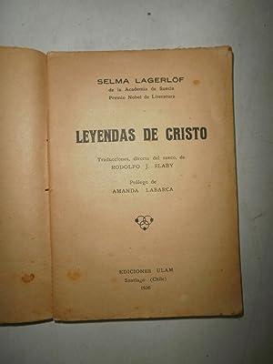 Leyendas de Cristo: LAGERLOFF, Selma