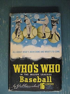 Who's Who in the Major Leagues: John P. Carmichael