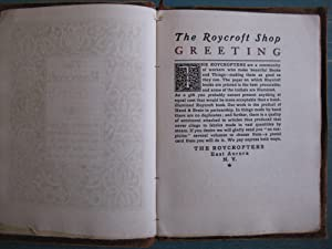 The Book of the Roycrofters