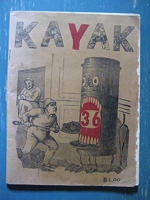 Kayak # 36: editor: George Hitchcock