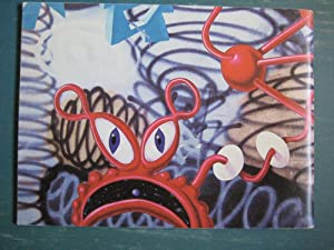 Kenny Scharf 1983: Tony Shafrazi, Kenny Scharf, and Bruno Schmidt