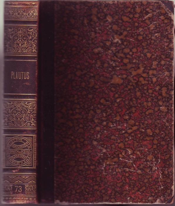 Plautus IV (= Langenscheidtsche Bibliothek sämtlicher griechischen: Plautus, Titus Maccius