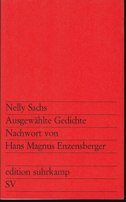 Ausgewählte Gedichte Nachwort Von Hans Magnus Enzensberger