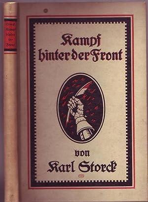 Kampf hinter der Front. Kriegsaufsätze für Deutschtum in Leben und Kunst. Vom Autor ...