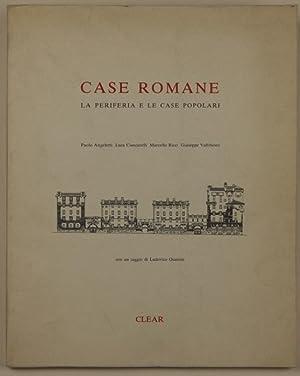 Case romane la periferia e le case: ANGELETTI P. CIANCARELLI