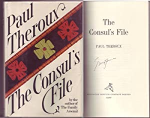 The Consul's File. Signed by Theroux.