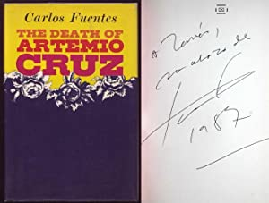 The Death of Artemio Cruz. Signed and dedicated by author.