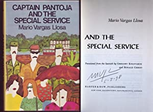 Captain Pantoja and the Special Service. Signed by author.