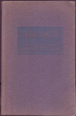Katalog T. Farbige Bilder. Nachbildungen in künstlerischer, originalgetreuer Ausführungen...