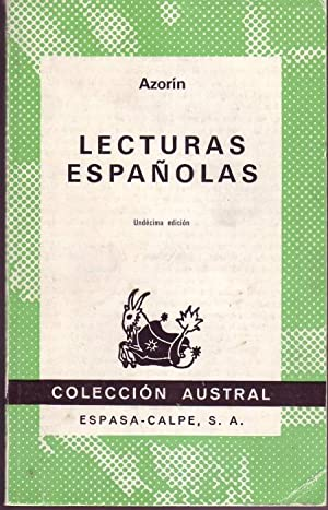 Lecturas españolas: Azorin