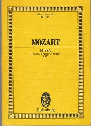 Missa C-moll für Soli, Chor, Orchester und: Mozart, Wolfgang Amadeus