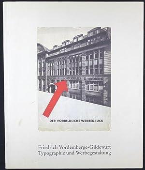 """Typographie kann unter Umständen Kunst sein"""". Friedrich: Rattemeyer, Volker; Helms,"""