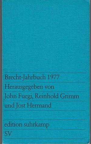 Brecht-Jahrbuch 1977: Hrsg. v. John
