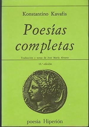 Poesias completas: Kavafis, Constantino