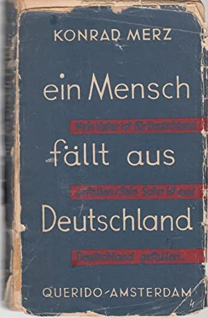 Ein Mensch fällt aus Deutschland: Merz, Konrad