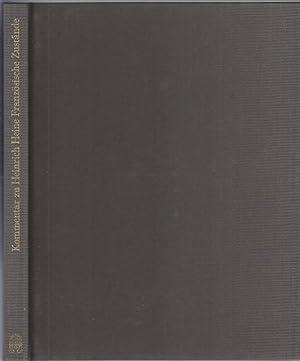 Kommentar zu Heinrich Heine. Französische Zustände. Artikel: Heine, Heinrich