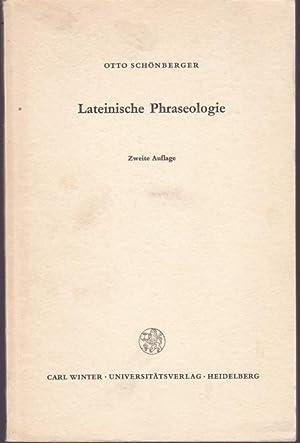 Lateinische Phraseologie: Schönberger, Otto
