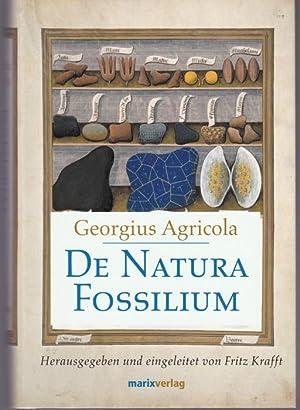 De Natura Fossilium. Handbuch der Mineralogie: Agricola, Georgius