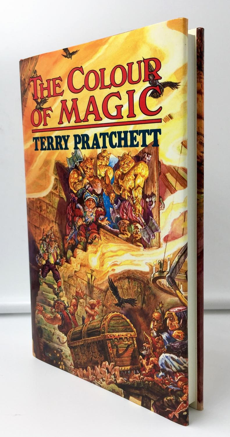 The Colour of Magic, Terry Pratchett