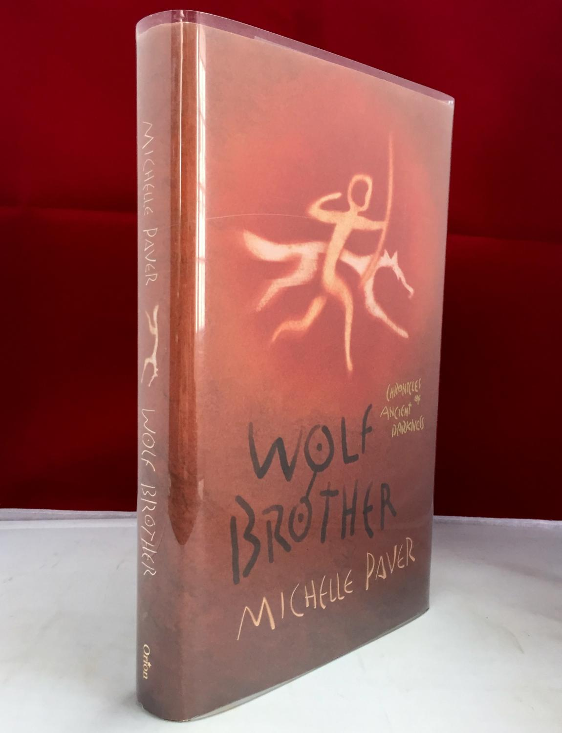 Wolf Brother ( with PAW PRINT ) Paver, Michelle
