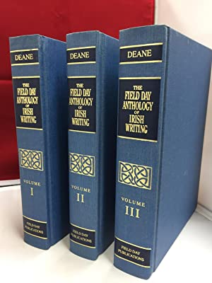 The Field Day Anthology of Irish Writing: Deane, Seamus (