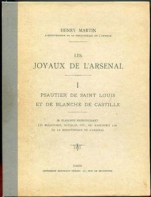 Les Joyaux de L'Arsenal. I. Psautier de: Martin, Henry
