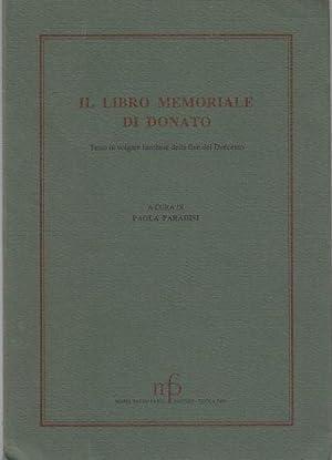 IL Libro Memoriale Di Donato Testo in: Paradisi, Paola